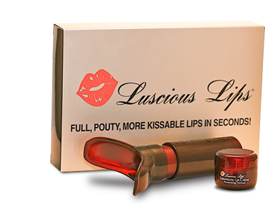 Luscious Lips Deluxe Kit with Therapeutic Lip Cr�me