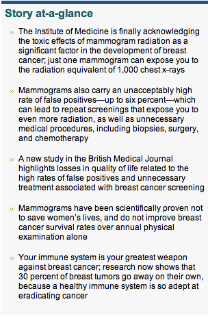 Your Greatest Weapon Against Breast Cancer (Not Mammograms)